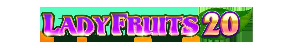 Lady fruits 20 logo