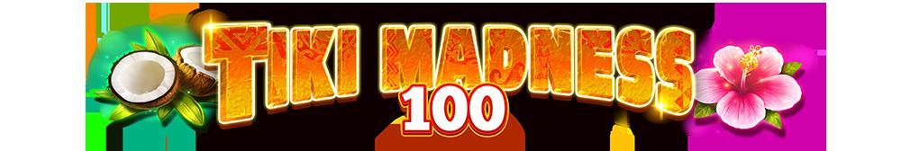 tiki madness 100 logo